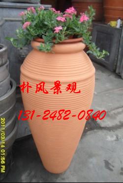 大規模な地面に落ちたマグネシウム泥の植木鉢家庭園芸花園の景観盆栽盆栽