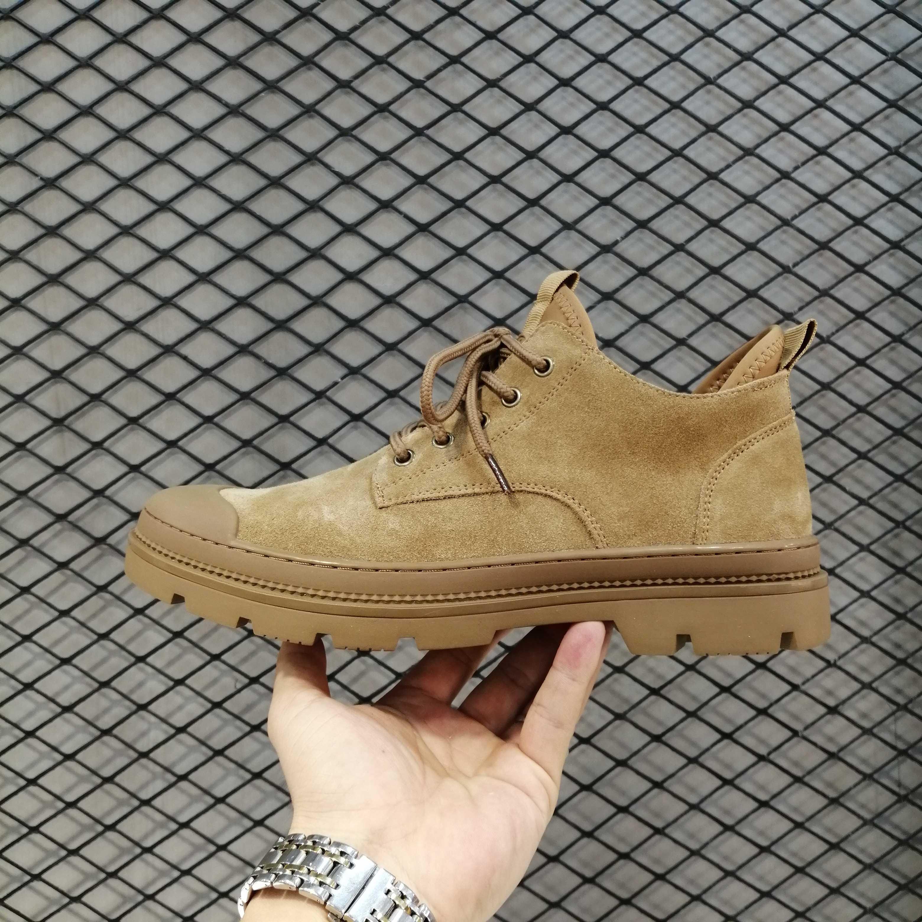 新款男鞋牛皮男鞋系带男鞋流行男鞋真皮男鞋低帮橡胶底男鞋潮皮鞋