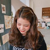 金属无痕发夹发梳网红倒插梳刘海夹顶夹发卡发饰女韩国后脑勺头饰