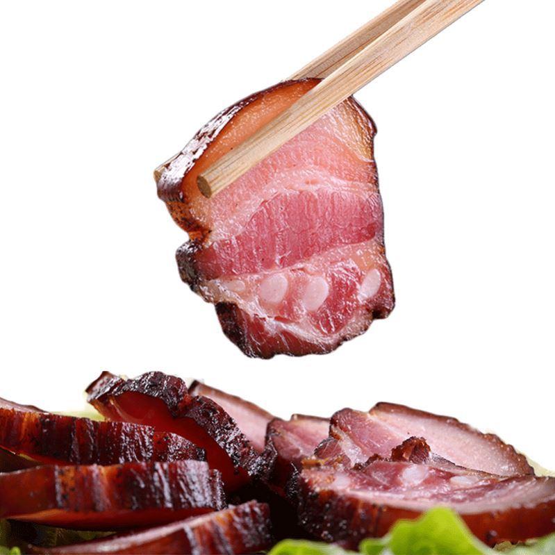 味非湖南老重庆烟熏熏肉腊肠贵州四川特产农家陇西腊肉特色咸肉