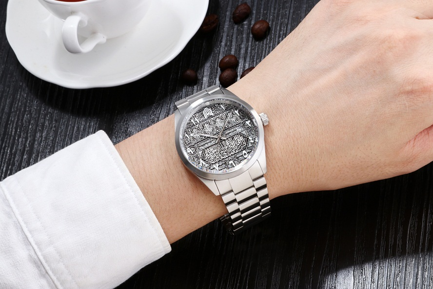 Goffel brand classic fashion trend business mens watch hot selling stainless steel table waterproof calendar quartz table