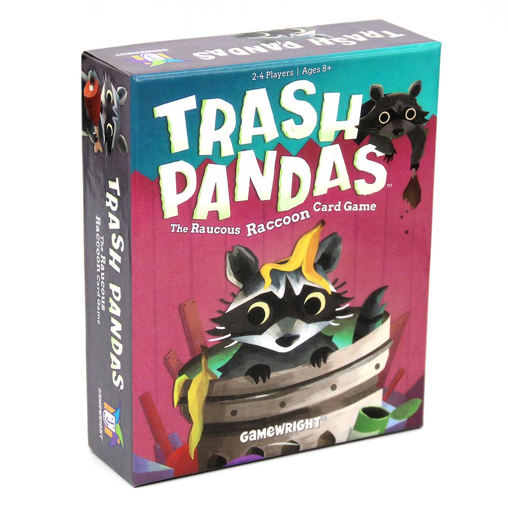 Trash Pandas 全英文垃圾熊猫-猫咪喧闹的浣熊纸牌爆炸猫游戏