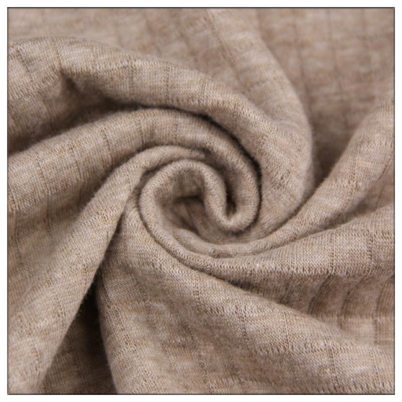 【13号布店】针织夹棉保暖面料 纯棉空气层中厚 宝宝抱被床品布料