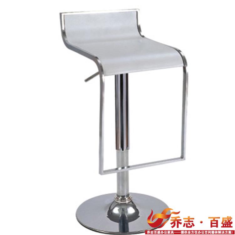【乔志百盛】简约酒吧椅子 时尚吧台凳 创意办公KTV椅子QZ-PVC-01