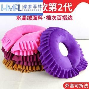 美容床枕头女性多功能垫圈靠枕头垫