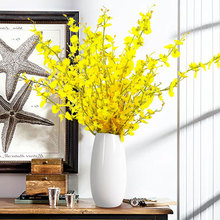 Modern simple landing living room creative flower arrangement home decoration ceramic dry flower vase flower art decoration