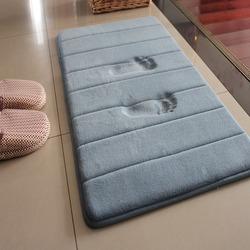 慢回弹防滑吸水卫浴地垫加厚门垫进门浴室脚垫卫生间卧室客厅地毯