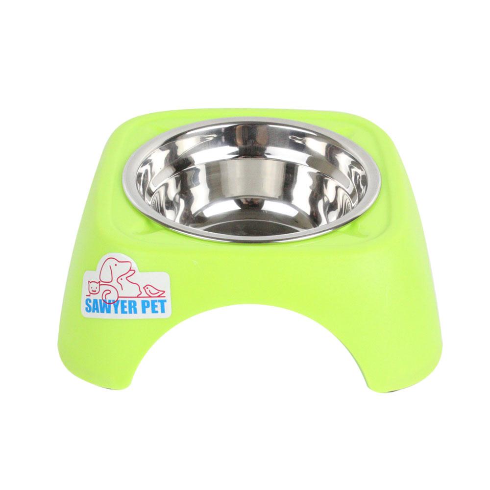 加高不鏽鋼碗寵物碗狗碗狗盆碗狗狗食盆貓咪碗喝水碗飯碗寵物用品