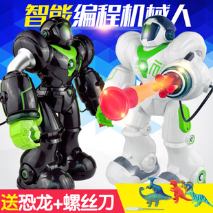 Will RoboCop 5088 Yingjia new intelligent automatic remote control robot toys for children early education boy gift