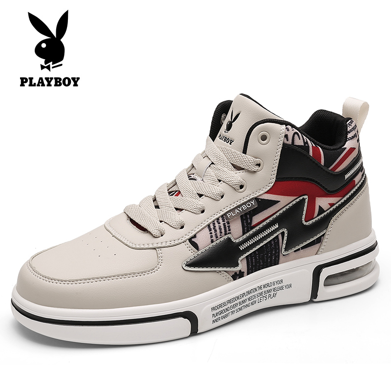Playboy men's shoes winter 2020 new trendy shoes Korean version of the trend cotton shoes sports casual autumn and winter all-match sneakers