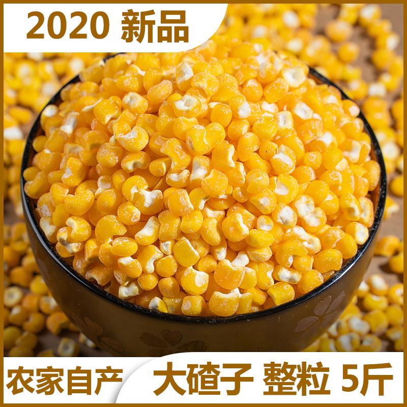 5斤东北农家自产大碴子新玉米大碴粥大粒五谷杂粮粗粮笨苞米茬子