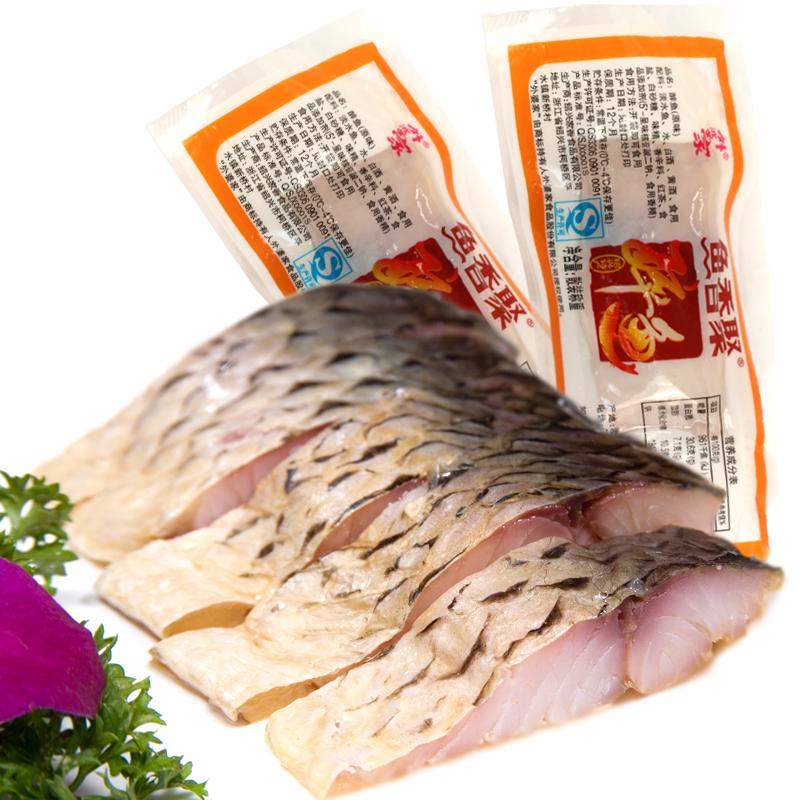 正宗绍兴特产鱼香聚外婆家醉鱼干中断精制款500g海鲜零食香辣原味