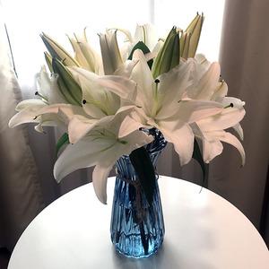 云南昆明基地直发鲜花批发百合花家用办公室插花包月全国一扎包邮