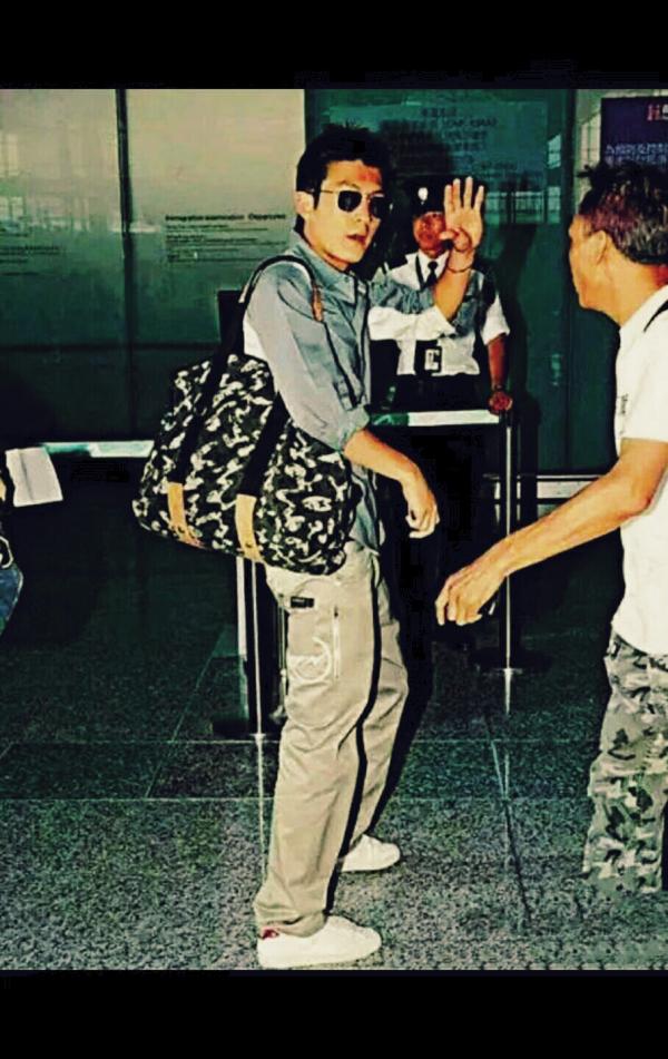陈冠希示范 Fenom 505 Chino pants 白色闪电 白闪潮流工装休闲裤