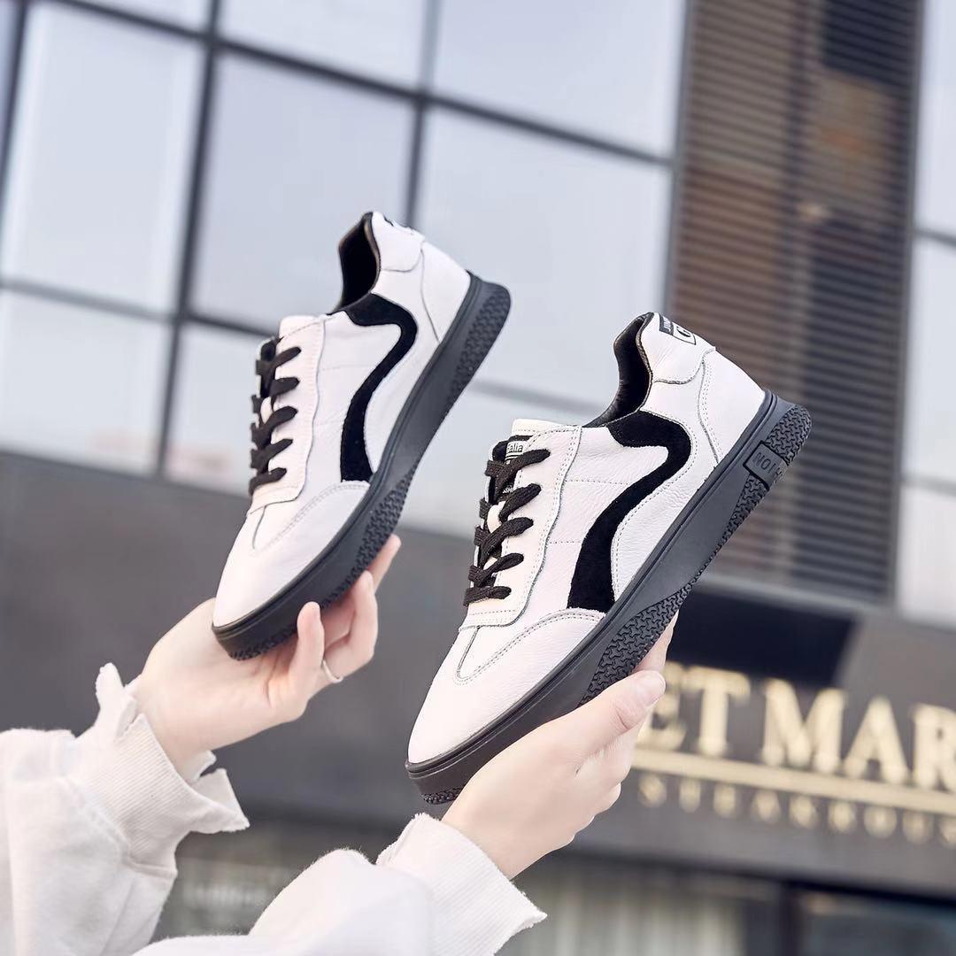 小白鞋女2020新款百搭平底真皮休闲学生运动板鞋潮  2018-7