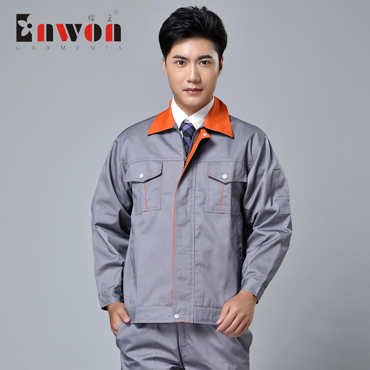 Autumn and winter work clothes long sleeve suit mens auto repair clothes logistics security machine repair uniforms Factory Workshop tooling engineering clothes