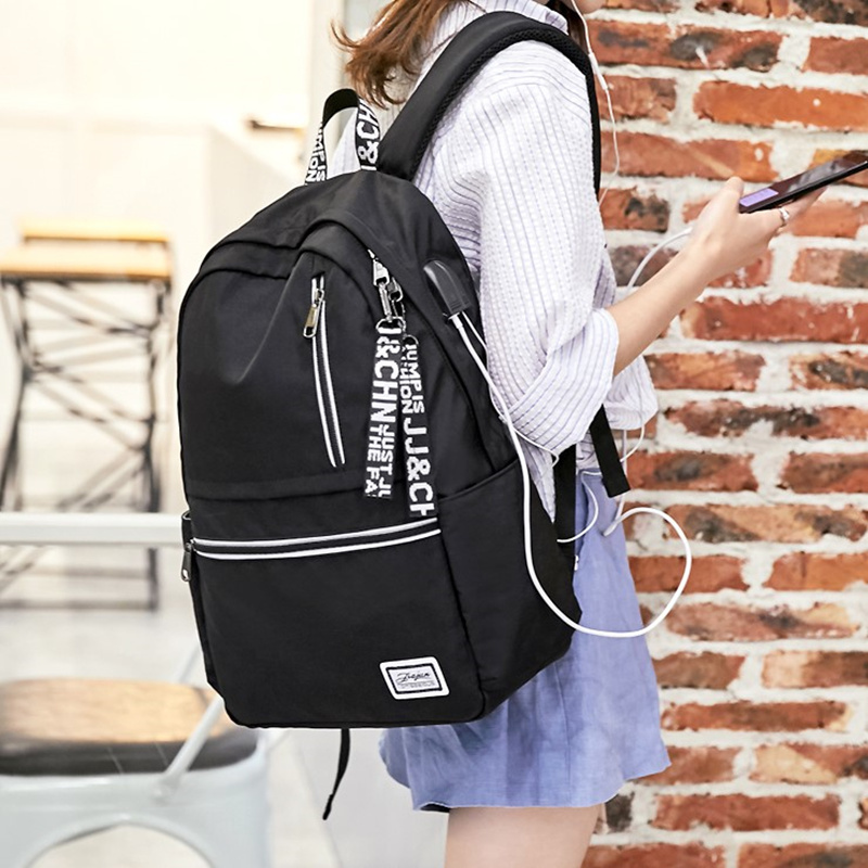 Schoolbag for junior high school students, Korean version, Harajuku, ulzzang, high school students, versatile schoolbag, Chaojie Backpack