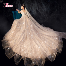 Korean light wedding dress