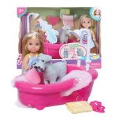 正版安琦琦公主娃娃 仿真3-7岁公主浴室套装大礼盒儿童过家家玩具