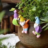 查看花园装饰可爱动物爬缸创意小摆件花盆栽造景挂件精灵乌龟兔子树脂价格