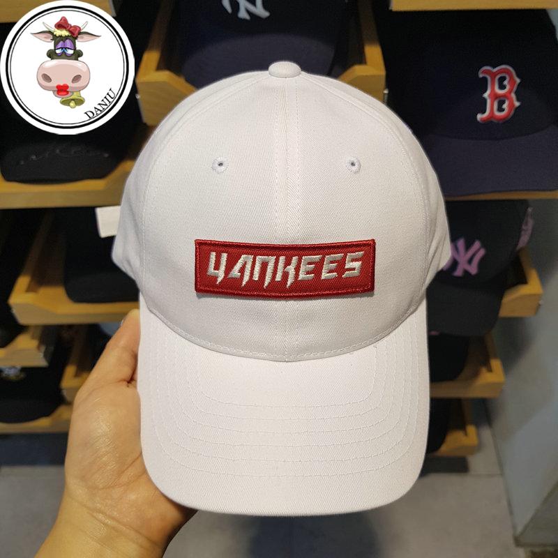 Даниил царство хань поколение MLB иностранных база команда модельа бейсболка вышивка регулировать беловатый красная этикетка мягкий топ тенденция подлинный