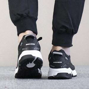 Skechers斯凯奇男鞋运动鞋 厚底显高 透气休闲鞋跑步鞋666028-