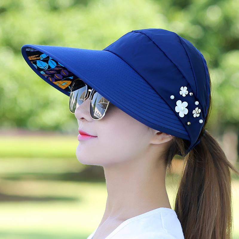 出游防紫外线大帽沿太阳帽