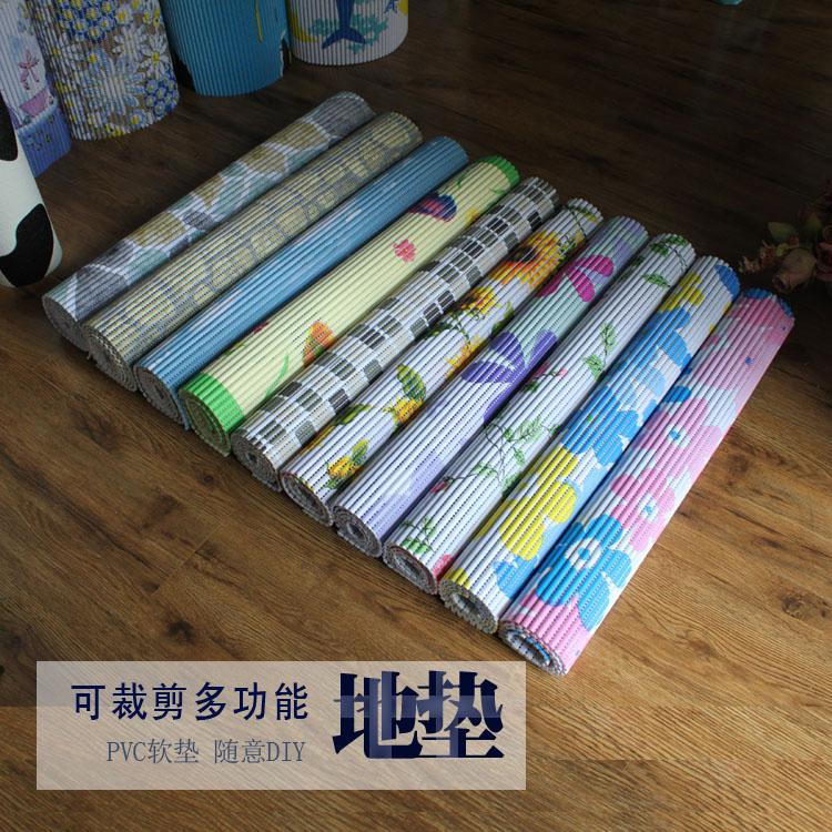 满10元可用3元优惠券pvc地板垫镂空软塑料泡沫客厅脚垫