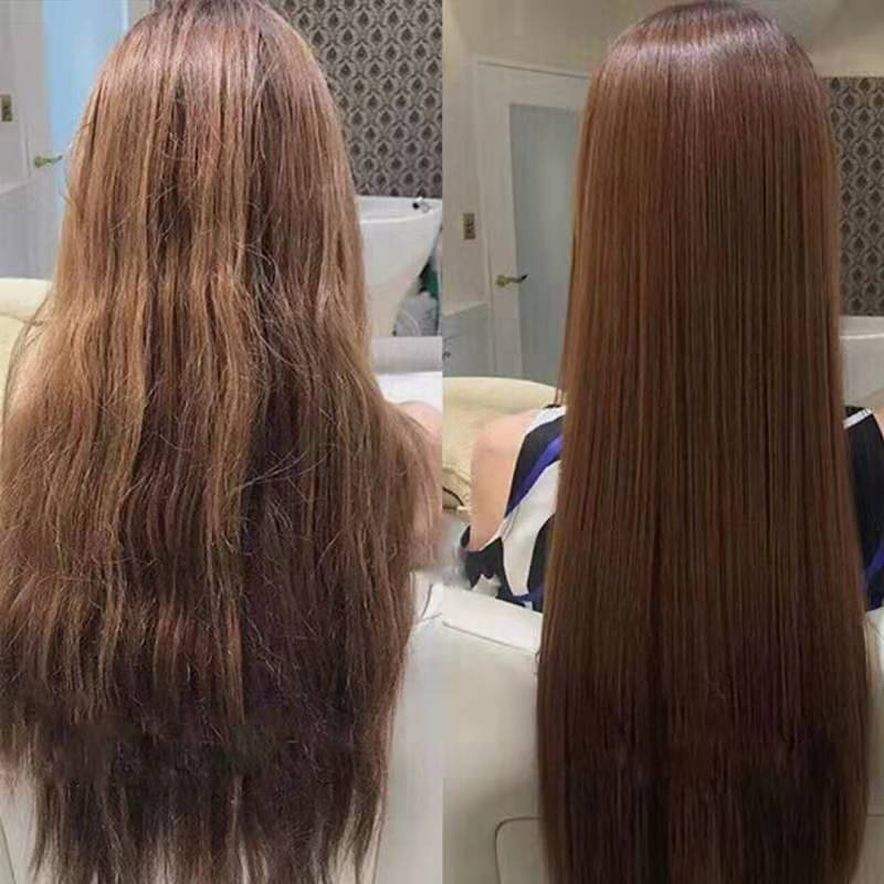 Hair straightening cream does not hurt hair, does not need to clip straighten permanent setting ion ironing household softener softener one comb straight