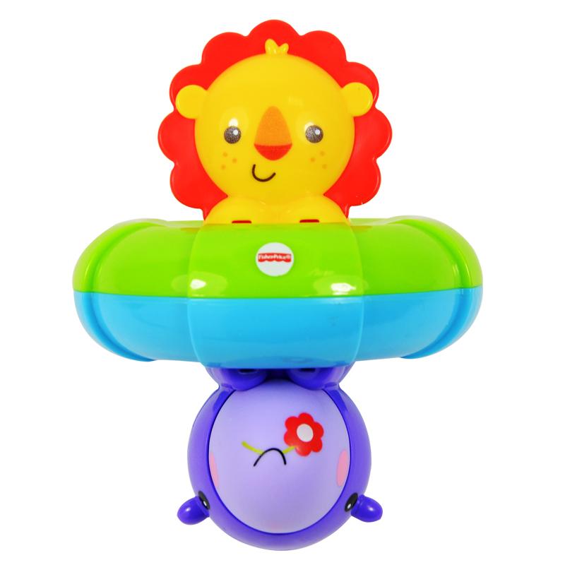 費雪雙麵洗澡好朋友BFH74 洗澡玩具寶寶戲水玩具戲水漂浮認知玩具