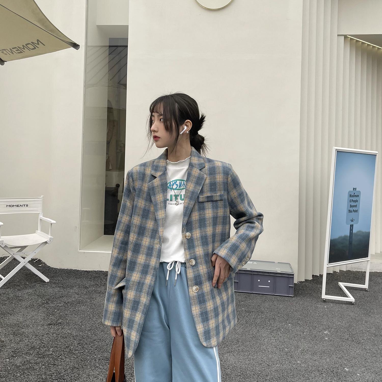 女类C316 XZ619 P95 春装外套情侣装男女款西装潮流西服便服外套
