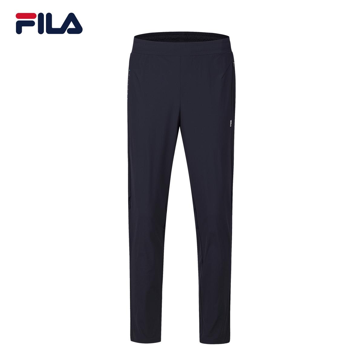 FILA斐乐男2018夏季新款舒适透气耐磨运动长裤|F11M824604F