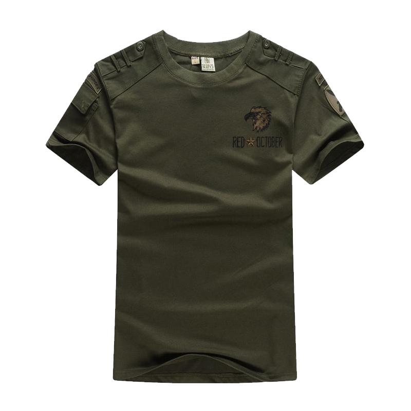 军野行户外运动休闲军迷迷彩t恤