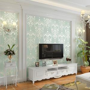 欣旺 欧式壁纸3D立体电视背景墙壁纸 卧室客厅沙发无纺布墙纸环保