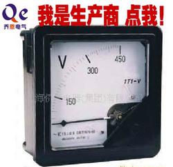 上海新华 1T1电流表A电压表V频率HZ有功/无功功率表W因数COS同步S