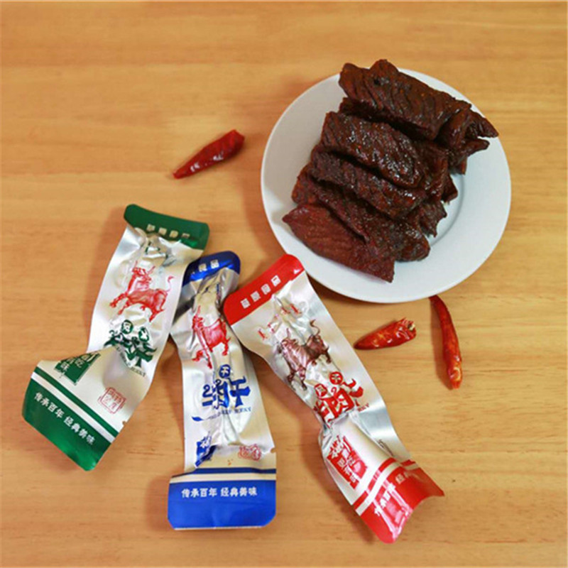 Taradian Inner Mongolia specialty carbon barbecue dry air dried beef jerky healthy delicious vacuum packed snack 500g