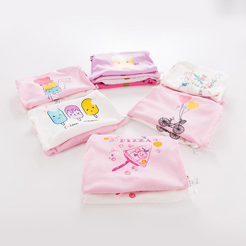 女童打底衫春裝純棉春秋兒童長袖0~3歲小童2017春款公主女寶寶T恤