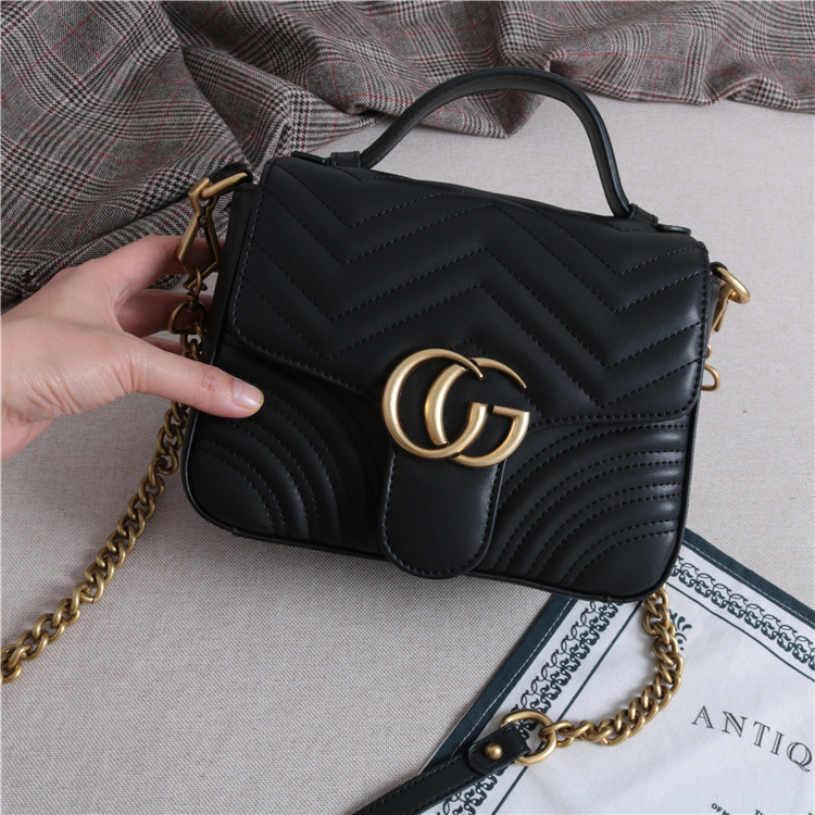 Big brand same leather 2019 new fashion small CK limited star sky foreign lady French messenger bag