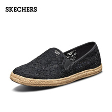 Skechers Skechers Skechers Sketchlace Woven Fisherman's Shoes Lady Bean Shoes One-footed Single Shoes 66666184