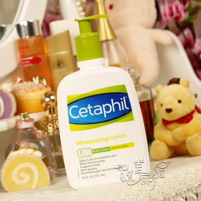 Cetaphil/丝塔芙 舒特肤保湿润肤乳液591ML温和润肤露 加拿大产