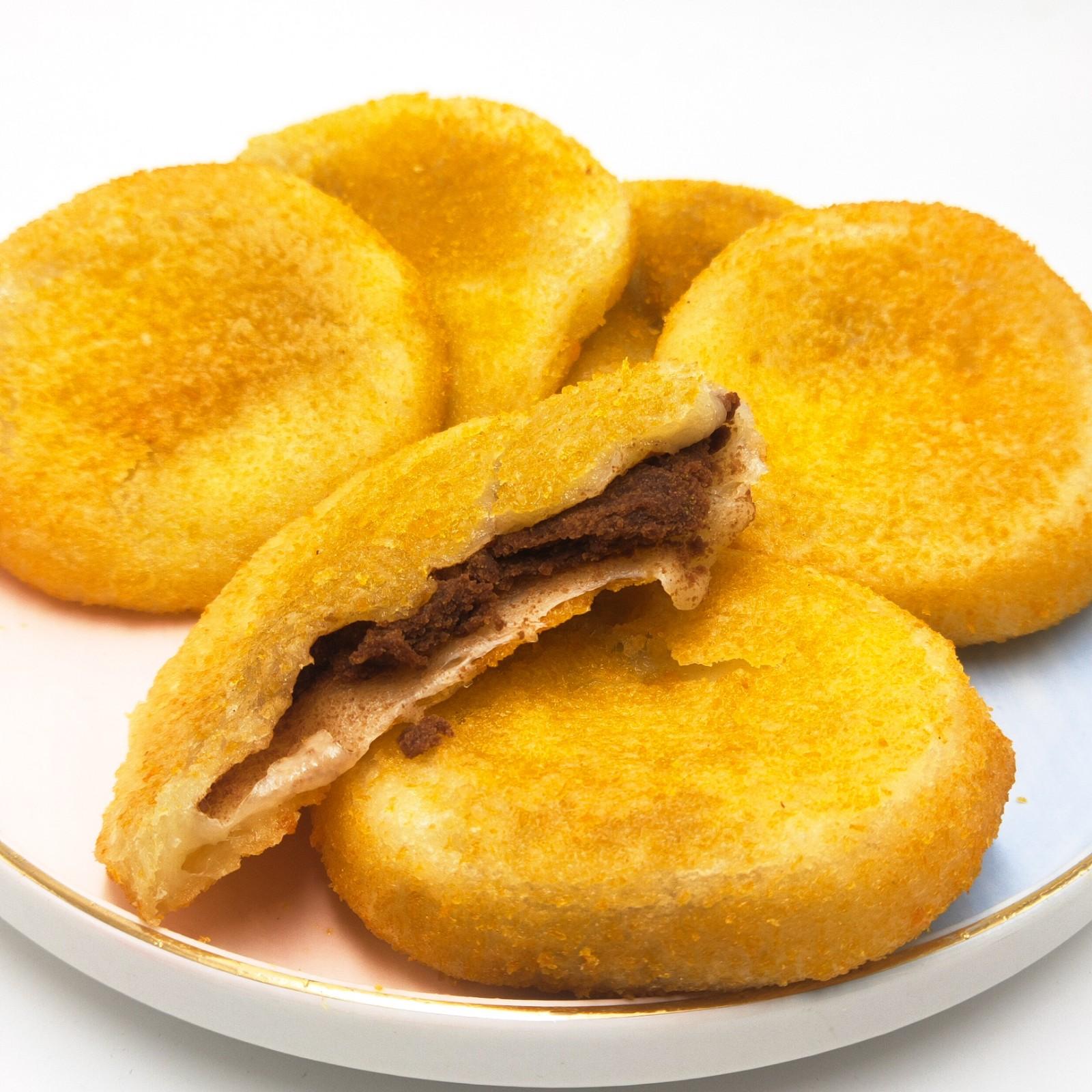 1400g20粒油炸糕 红豆馅 东北老式油炸糕点特色小吃 油炸早餐小吃