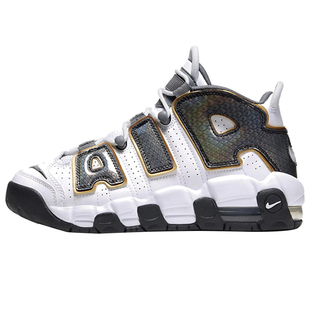 nike air more uptempo蛇皮篮球鞋