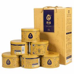 【恩嗑金罐】SH363原味葵花籽内蒙特产瓜子218克*6罐豪华礼盒包邮
