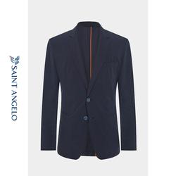 报喜鸟春季新款男士商务休闲单西 修身便西单排扣两粒扣西装外套