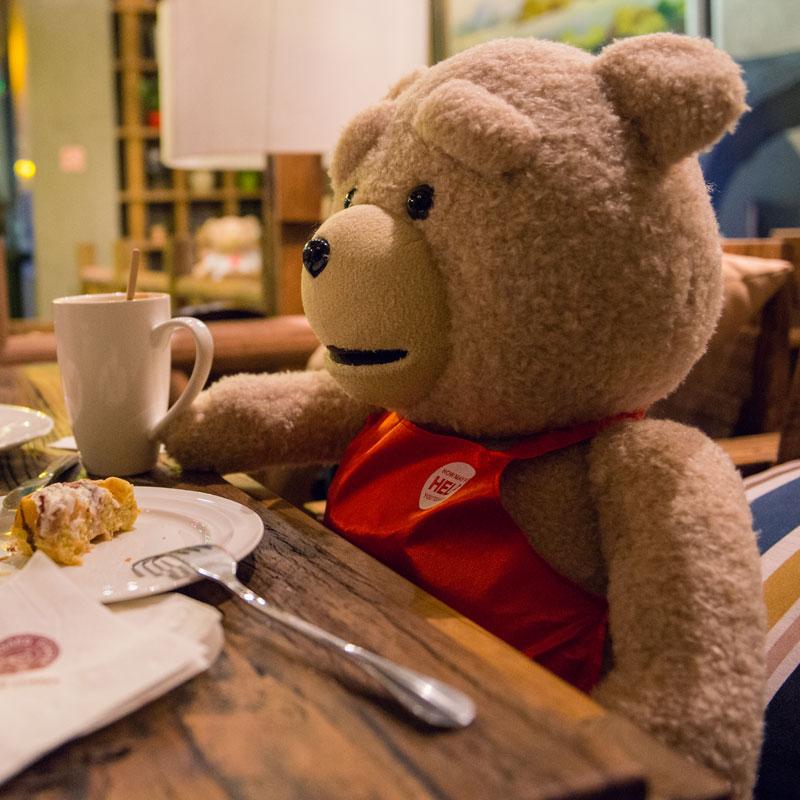 ted录音娃娃抱抱熊,送异地恋女友礼物