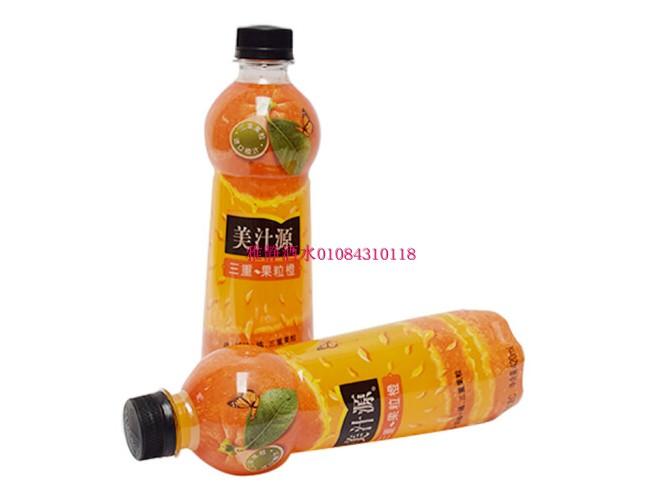 可口可乐 美汁源 三重果粒橙甘甜可口 420ml*12瓶  北京包邮