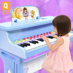 俏娃宝贝儿童钢琴玩具女孩宝宝电子琴1-2-5周岁小孩生日礼物初学价格