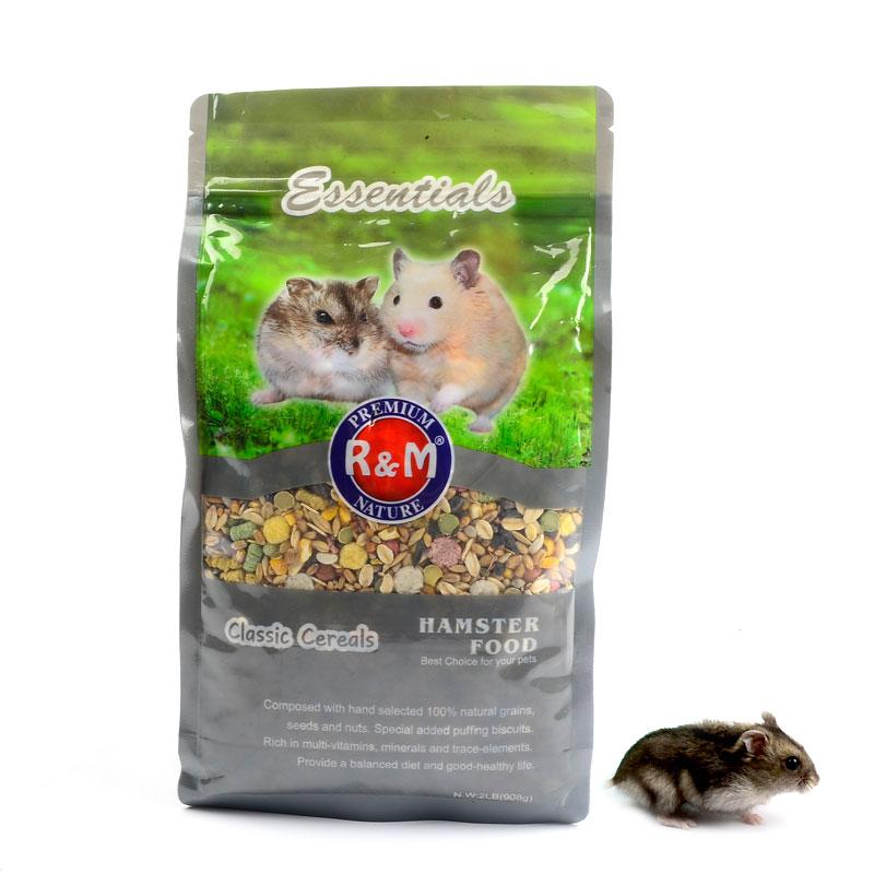[精灵小宠之家饲料,零食]包邮 谷物营养小仓鼠粮金丝熊主粮宠物月销量7件仅售16元