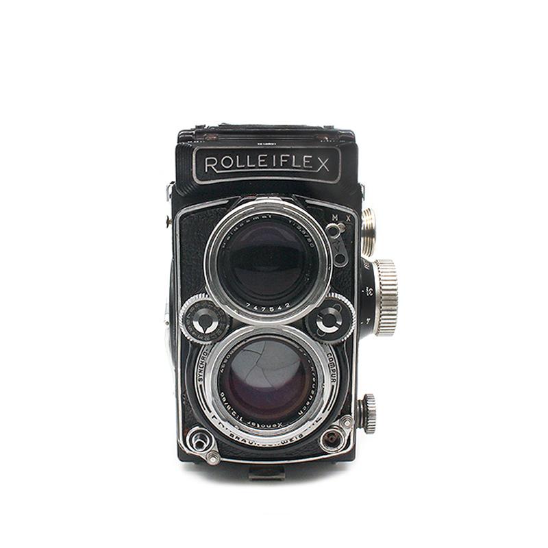 禄莱rolleiflex 2.8d带施耐德镜头