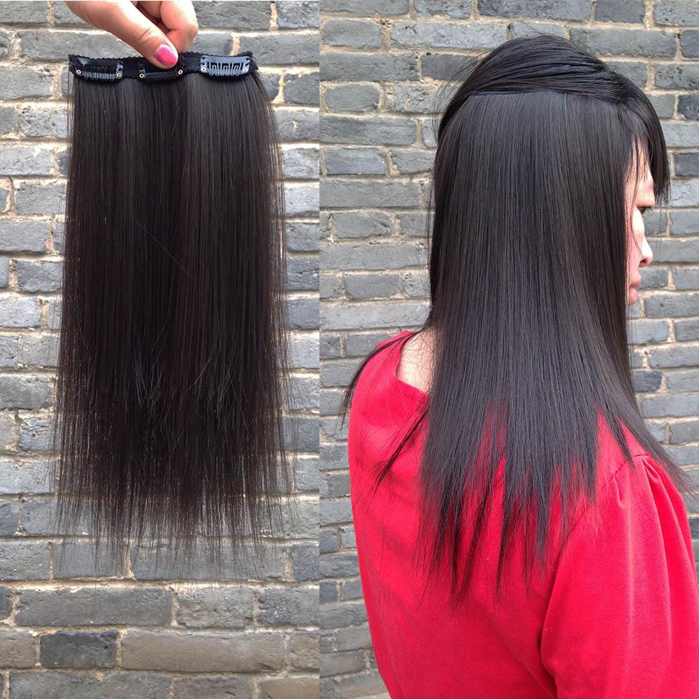 假发片无痕隐形接长发垫补发垫发根蓬松器增厚一片式垫发片接发片